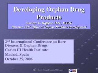 2 nd  International Conference on Rare Diseases & Orphan Drugs Carlos III Health Institute