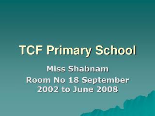 TCF Primary School