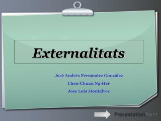 Externalitats