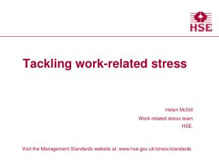 Tackling work-related stress