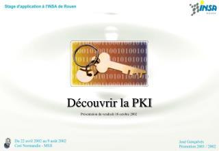 D couvrir la PKI