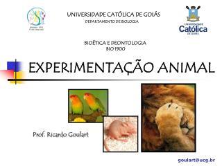 UNIVERSIDADE CAT�LICA DE GOI�S