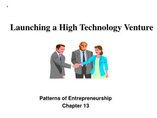 Launching a High Technology Venture
