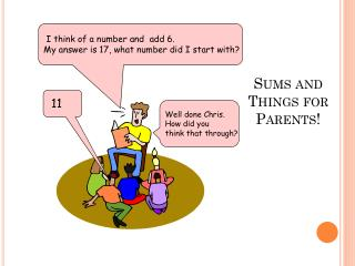 Sums and Things for Parents!