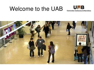 Welcome to the UAB
