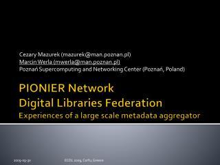 PIONIER Network