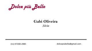 Gabi Oliveira