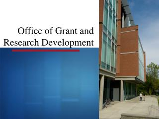 Office of Grant and Research Development