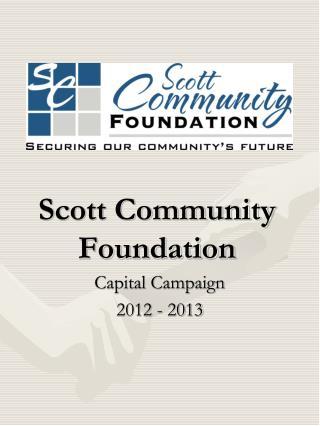Scott Community Foundation