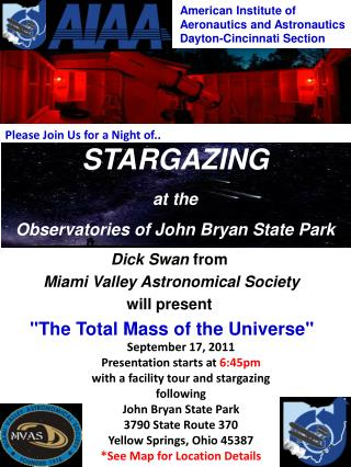 STARGAZING at the Observatories of John Bryan State Park