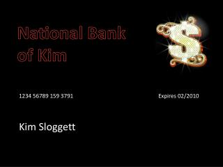 National Bank of Kim