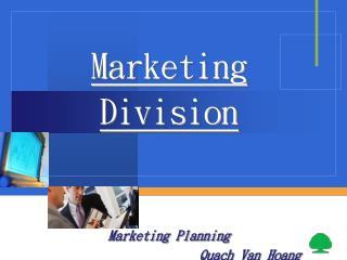 Marketing  Division
