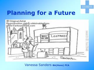Planning for a Future