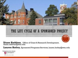 The Life Cycle of a Sponsored Project