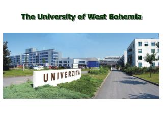 The University of West Bohemia