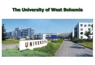 The University of West Bohemia
