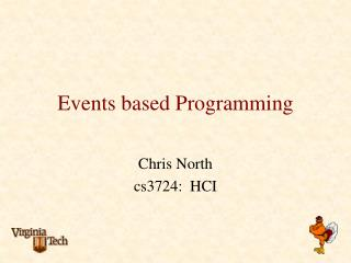 Events based Programming