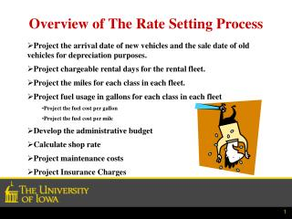 Overview of The Rate Setting Process