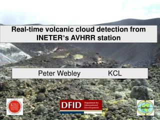 Real-time volcanic cloud detection from INETER ' s AVHRR station