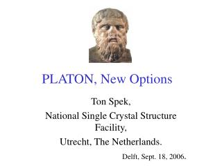 PLATON, New Options