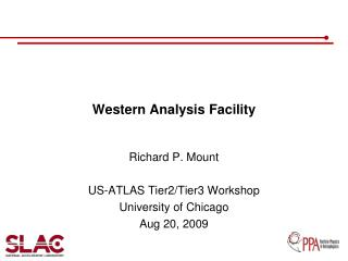 Western Analysis Facility