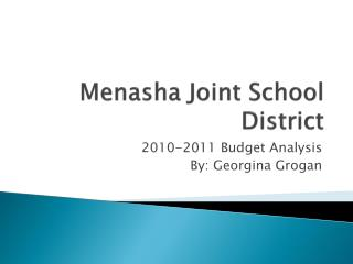 Menasha Joint School District
