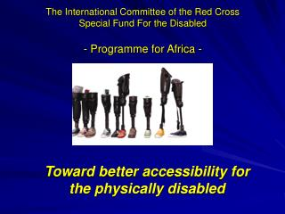 Toward better accessibility for the physically disabled