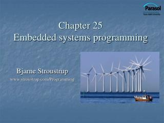Chapter 25 Embedded systems programming