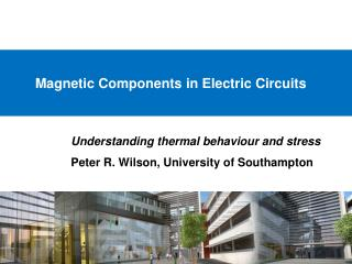 Magnetic Components in Electric Circuits