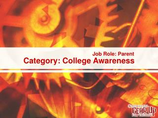 Category: College Awareness