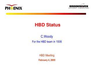 HBD Status