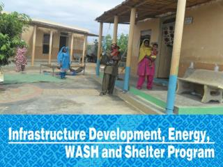 4. Hand wash Facilities: 1009 hand wash facilities were constructed last year.