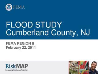 FLOOD STUDY Cumberland County, NJ