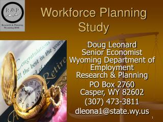 Workforce Planning Study