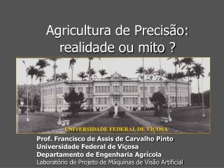 UNIVERSIDADE FEDERAL DE VI�OSA