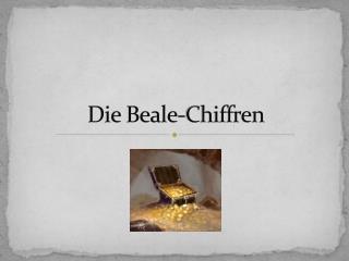 Die  Beale -Chiffren