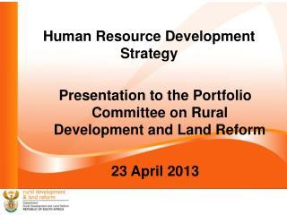 Human Resource Development Strategy