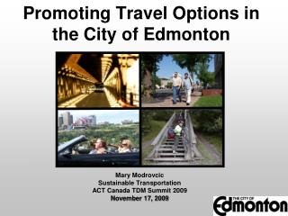 Promoting Travel Options in the City of Edmonton
