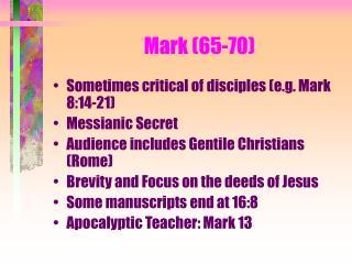 Mark (65-70)