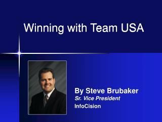 Winning with Team USA