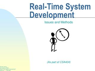 Real-Time System Development