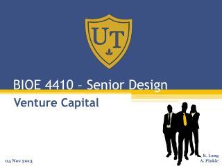 BIOE 4410 – Senior Design