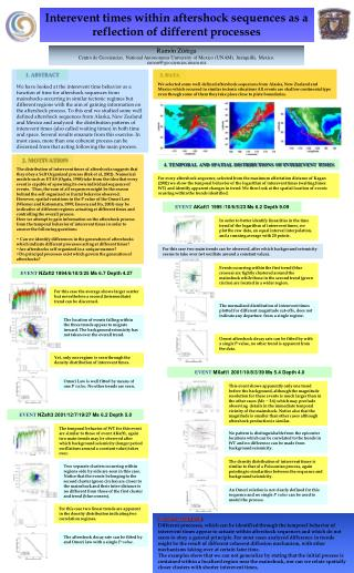 Interevent times within aftershock sequences as a reflection of different processes