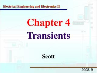 Chapter 4 Transients
