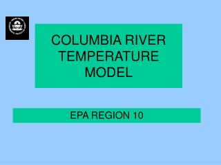 COLUMBIA RIVER TEMPERATURE  MODEL