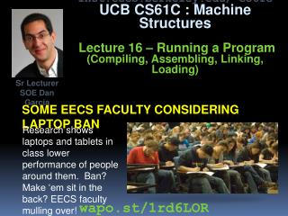 Some EECS faculty considering laptop ban