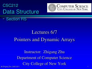 CSC212  Data Structure  -  Section RS
