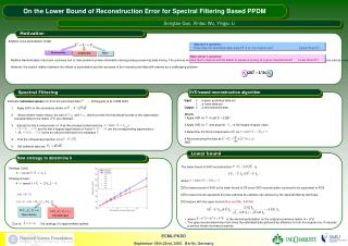 Additive noise perturbation model