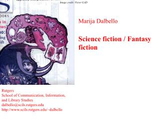 Marija Dalbello Science fiction / Fantasy fiction