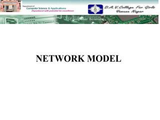 NETWORK MODEL